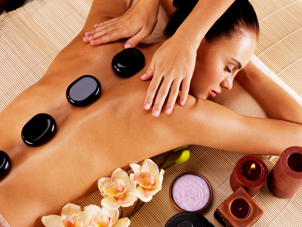 Hot Stone Massage Refined Day Spa